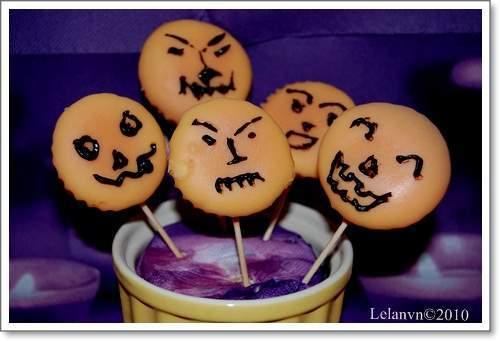 Cupcake và những con ma dễ thương