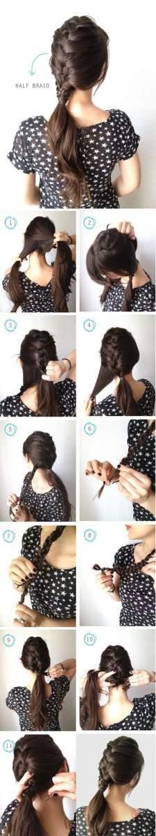 5 kiểu tóc tết không sợ... mũ bảo hiểm 1