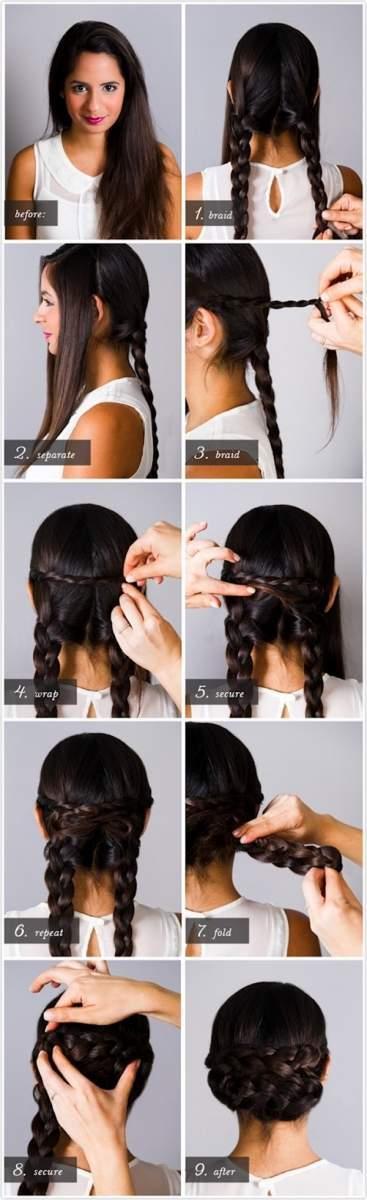 5 kiểu tóc tết không sợ... mũ bảo hiểm 4