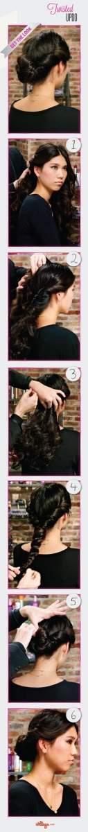 5 kiểu tóc tết không sợ... mũ bảo hiểm 5