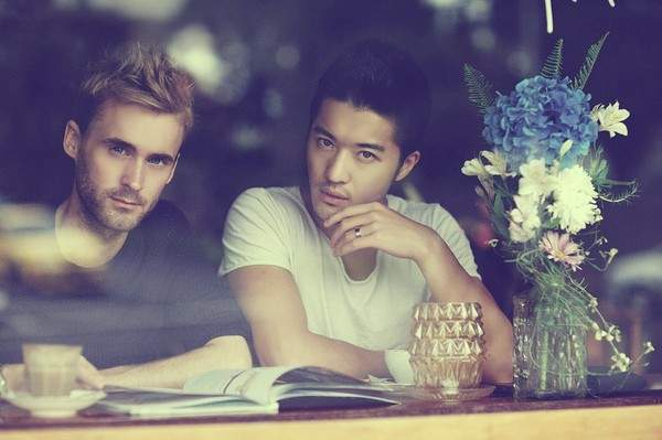 """Những cặp đôi đồng tính nam đẹp long lanh, """"hot"""" nhất châu Á 15"""