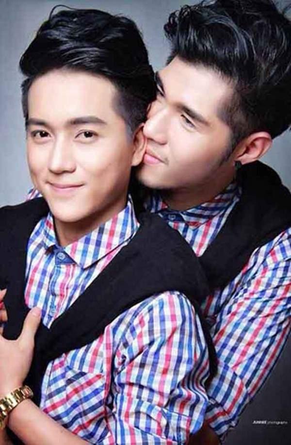 """Những cặp đôi đồng tính nam đẹp long lanh, """"hot"""" nhất châu Á 19"""