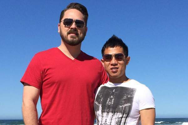 Ca sĩ,Quang Huy, The Bells, Kết hôn đồng giới , bạn trai, người mỹ