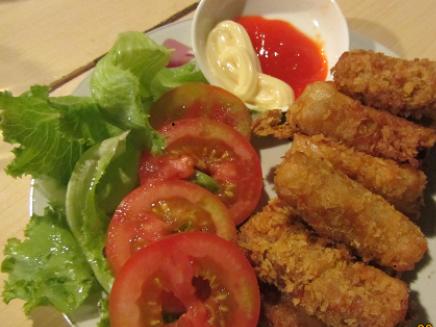 chả giò cá ngừ, giòn thơm, lạ miệng, nấu ăn ngon, khéo tay hay làm, món ngon dễ làm