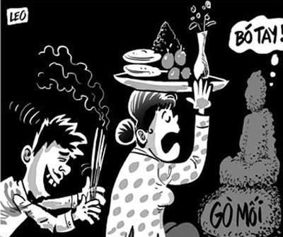Kiên Giang: Mất tiền tỉ vì quá mê tín