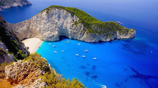 thiên nhiên thế giới, Châu Âu, Zakynthos, Hy Lạp, cua so tinh yeu