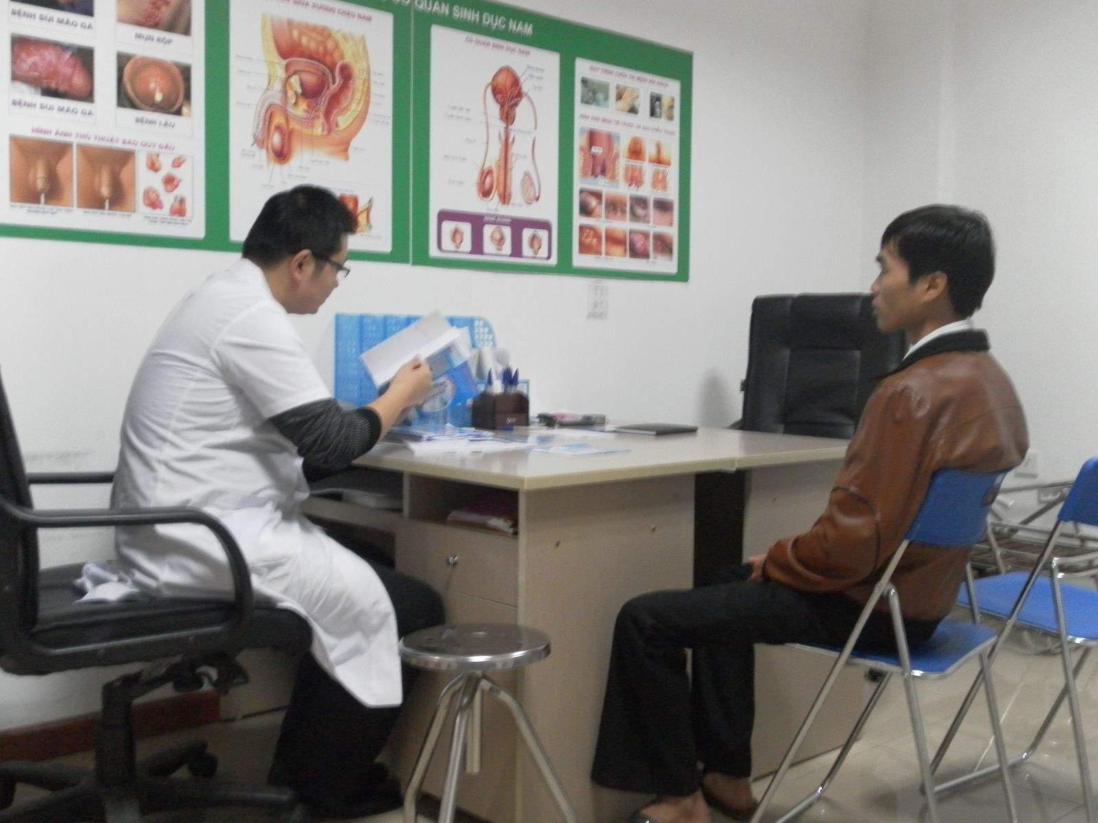 quy trình, thăm khám, điều trị, vô sinh nam, tư vấn, làm bệnh án, xét nghiệm, kĩ thuật hỗ trợ sinh sản