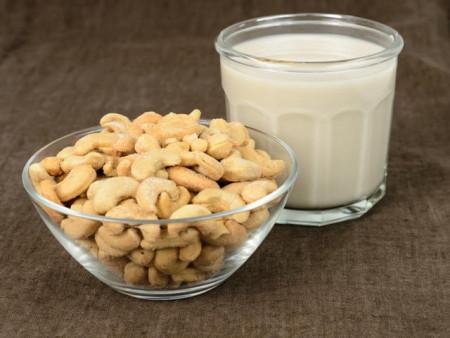hạt điều, sữa hạt điều, dinh dưỡng