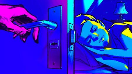 gia đình, cửa phòng ngủ, mở cửa phòng ngủ, phòng ngủ, phòng ngủ ban đêm