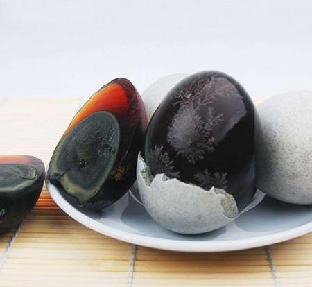 đồ ăn Trung Quốc, trứng thế kỷ, trứng bảo quản, Xiangyang Yubao
