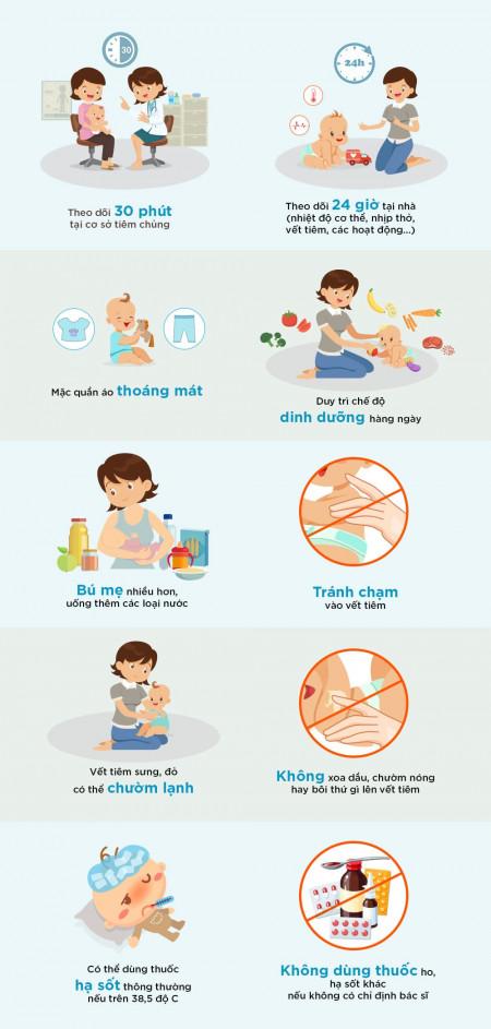 vaccine, tiêm vaccine, tiêm chủng, chăm sóc trẻ, trẻ em