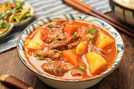 bò hầm, rau củ, món ngon, mẹo vặt