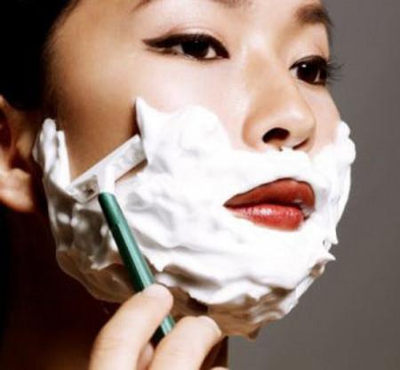 Cạo lông mặt - không tác hại như bạn nghĩ