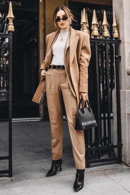 4 kiểu áo mix với quần ống suông sẽ cho bạn phong cách thanh lịch đầy khí chất