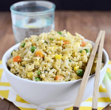 Món cơm chiên phiên bản không gạo này sẽ giúp bạn giải tỏa mọi bức bối về giảm cân, lấy lại vóc dáng đẹp