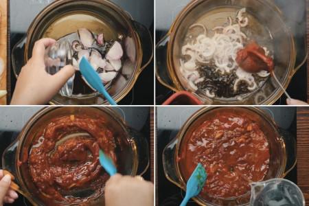 Cách làm bánh gạo Tokbokki bằng bánh tráng siêu dễ ngay tại nhà