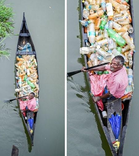 Bức ảnh thay đổi cuộc đời ông lão nhặt rác