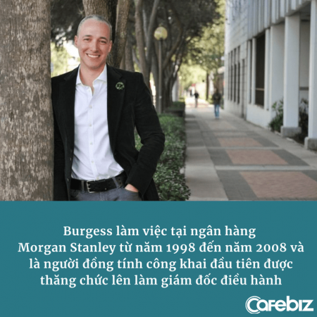 CEO đồng tính đầu tiên của Morgan Stanley: 'Cuộc đời không công bằng, thành công là sự trả thù ngọt ngào nhất'