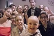 ảnh gia đình, hóa trang, phim bom tấn, hài hước, gia đình Lilly - Leon,  bé Orson , funny, diễn xuất như thật