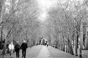 Vào mùa đông, bầu trời Paris ít nắng hơn.