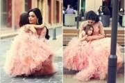 bức ảnh về mẹ và con gái khiến trái tim bất cứ ai tan chảy
