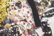 Á hậu Diễm Trang đẹp cổ điển bên hoa mai