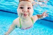 Zoe Ubiera , 5 tháng tuổi - một trong số những em bé tham gia trong cuốn sách ảnh.