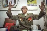 Còn đây là bức ảnh ông chụp một cựu binh Việt Nam từng tham gia kháng chiến chống Pháp tại thành phố Điện Biên Phủ.