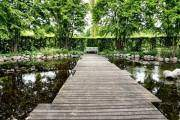 Vườn xanh ở Valbyparken, Copenhagen, Đan Mạch
