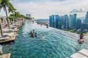 Bể bơi vô cực ở Marina Bay Sands, Singapore