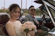 JustaTee, Trâm Anh, về chung một nhà, đám cưới, hot teen, dự lễ ăn hỏi, cua so tinh yeu