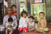 chia sẻ tình thương, 5 đứa trẻ khát sữa, phép màu kỳ diệu, Hoàn cảnh khó khăn, cua so tinh yeu