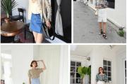 Đẹp, Thời trang, Mặc đồ đẹp, Xu hướng 2018, Chân váy, Chân váy mini, Chân váy ngắn, Áo sơ mi,  Áo phông,  Áo blouse, cua so tinh yeu