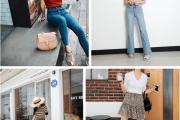 Đẹp, Thời trang, Xu hướng 2018, Mặc đồ đẹp, Áo croptop, Váy liền, Chân váy, Quần skinny, cua so tinh yeu