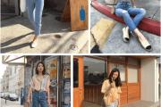 Đẹp, Thời trang, Mặc đồ đẹp, Xu hướng 2018, Jeans denim, Denim shorts, Váy denim, Chân váy denim, cua so tinh yeu