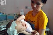 Con gái 14 tháng tuổi, Căn bệnh quái ác, Người cha nghèo, Người mẹ trẻ, BV Nhi Trung Ương, Não úng thuỷ, Bé gái não úng thủy, Thanh Hoá, cua so tinh yeu
