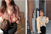áo blouse, bánh bèo, hot trends 2019, cua so tinh yeu