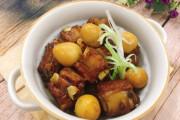 sườn, sườn kho trứng cút, cua so tinh yeu