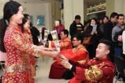 kỷ lục kết hôn, nổi tiếng mạng xã hội, cua so tinh yeu
