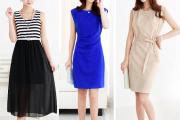 Thời trang công sở, thời trang nữ công sở, váy bút chì, Chân váy midi, váy bó, váy liền, Chân váy xòe