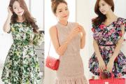 Váy hè, xu hướng thời trang hè, mát mẻ, váy liền,  thời trang hè 2014