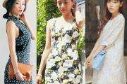 Váy hoa, đầm hoa, xu hướng thời trang, thời trang mùa thu 2014