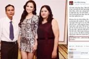 Trải qua nhiều biến cố, Hoa hậu Diễm Hương, đã làm lành, với mẹ ruột