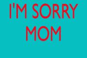 tư vấn tâm lý, ứng xử, mẹ con, mâu thuẫn, lở miệng, buồn lòng, xin lỗi mẹ