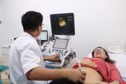 mang thai, siêu âm thai, kích thước túi thai, túi thai méo, thai kỳ
