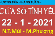 Nghe lại Cửa Sổ Tình Yêu hôm nay 22-1-2021