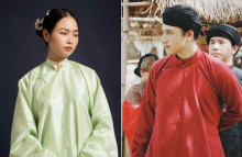 Áo ngũ thân thời Nguyễn trở về trong đời sống giới trẻ Việt