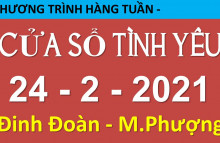 Nghe lại Cửa Sổ Tình Yêu hôm nay 24-2-2021 - 19006802