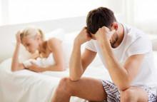 chồng mất cảm xúc, ngoại tình bị bắt gặp, không thể quan hệ, mất tự tin, xấu hổ