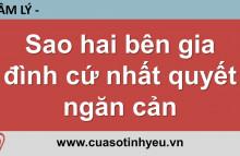 Sao hai bên gia đình cứ nhất quyết ngăn cản - Nguyễn Thị Mùi